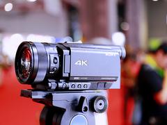 户外直播利器 索尼AX700摄像机