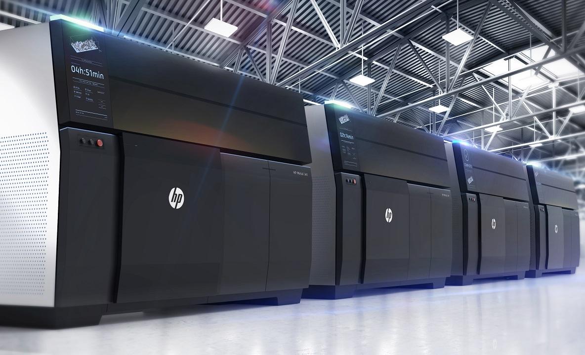惠普推出批量化生产金属3D打印技术