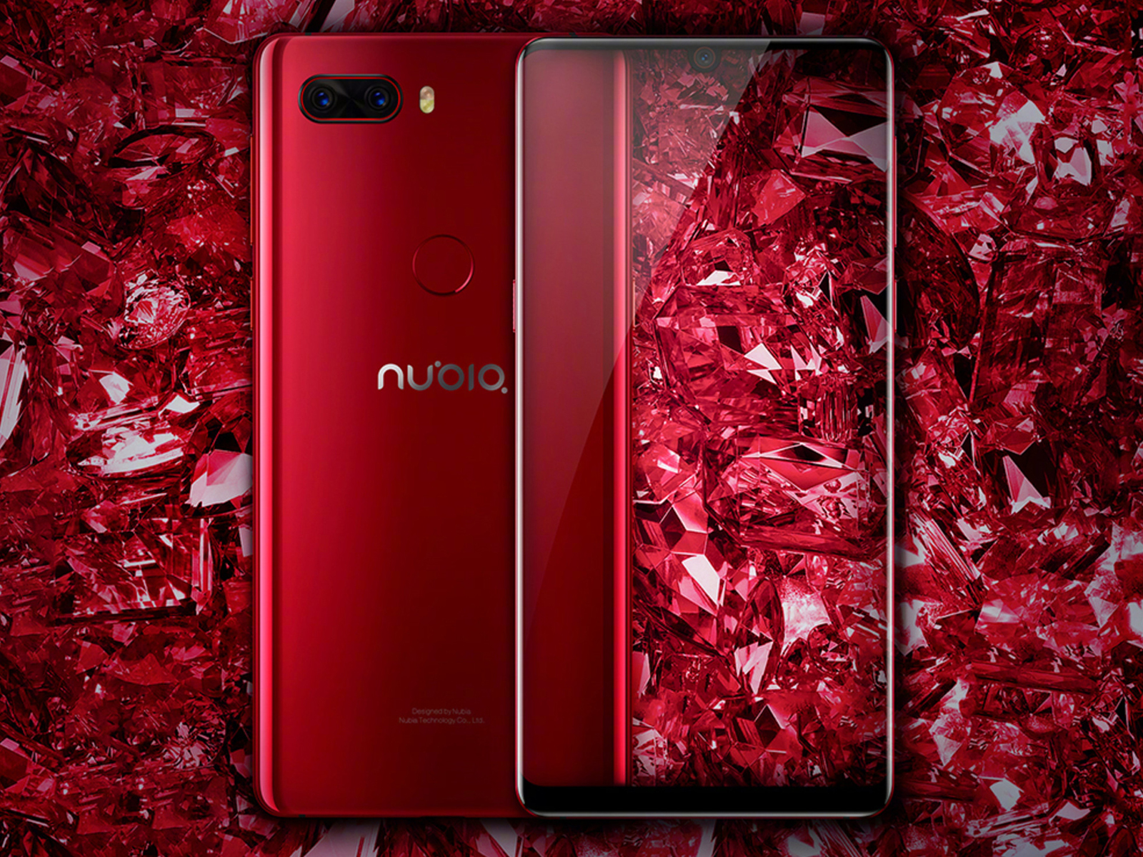 努比亚Z18星云红即将开售:91.8%屏占比,AI加持