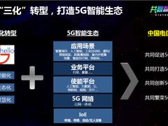 中国电信透露终端布局:5G和全网通构筑泛智能生态