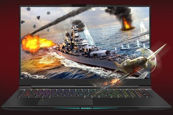 轻量化 窄边框  17寸游戏本机械革命X8Ti Plus售价近万