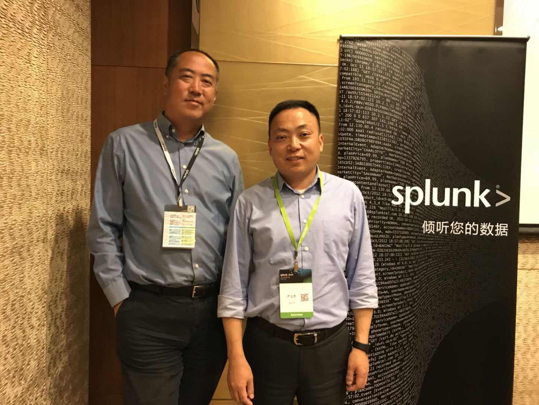 """""""我们没有竞争对手""""专访Splunk中国区总经理严立忠"""