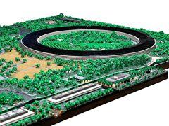 Apple Park最牛复刻:耗时两年,花费8.5万块乐高积木