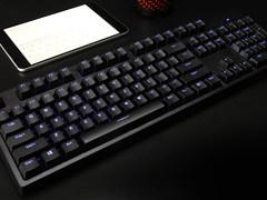 雷柏V708多模式背光游戏机械键盘图赏