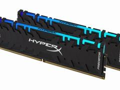 最高达4000MHz!HyperX PredatorDDR4 RGB高频内存上市