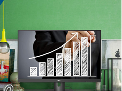 AOC商用丨洞察先机!X23E1H显示器让你精准掌控股市大盘!