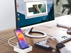华为Mate 20 Pro加持黑科技,通过绿联扩展底座秒投屏!