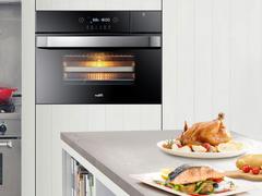 幸福的味道是怎样炼成的:华帝蒸烤一体机23003,一键轻松get大厨技能!