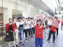 小米MIX 3今日全国同步首卖 线下店场面火爆