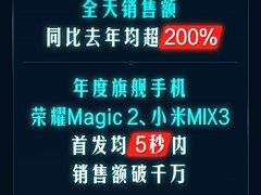 京东手机11.11开门红战绩出炉 iPhone销售额同比增长152%
