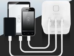 集成收纳小巧便携,公牛魔方USB插座