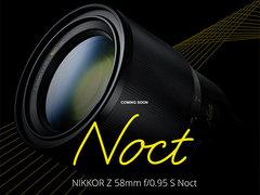 尼康新款Nikkor 58mm f/0.95镜头或将于明年发布
