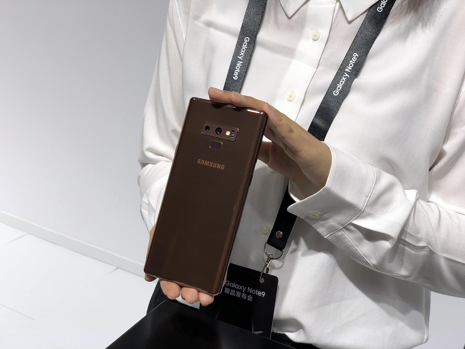 痴心满满 白虎Galaxy Note9国行版本标准发布
