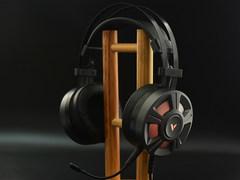 7.1声道+多彩背光 雷柏VH510游戏耳机图赏