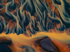 """有点意识流  德国风光摄影师Tom Hegen镜头下的""""河流脉络"""""""