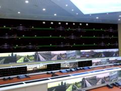 台达激光DLP大屏幕显示系统服务铁路通辽站