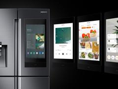 三星新一代Family Hub冰箱亮相CES 2019,打造互联新标准