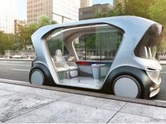 博世首携无人驾驶电动巴士概念车IoT Shuttle亮相CES