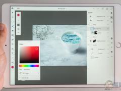 iPad版Photoshop现身台湾 终于有理由买iPad Pro了!