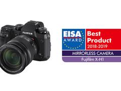 富士X-H1荣获2018年EISA年度最佳无反数码相机奖项