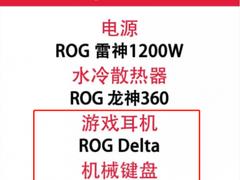 华硕两款ROG电竞外设荣获2018电脑报编辑选择奖
