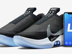 Nike发布科技球鞋 iPhone联动控制,支持无线充电