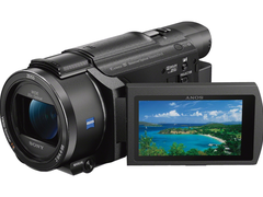 选索尼4K摄像机AX60 轻松拍摄VLOG