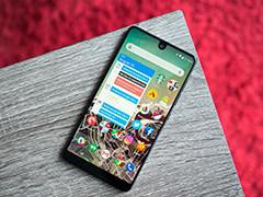 无法忍受Essential Phone屏幕缺口? 下代产品将采用打孔屏和屏下指纹