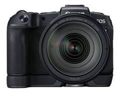 带有新EG-E1握把的佳能EOS RP相机曝光