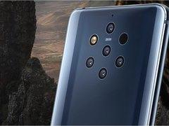 全球首款后置五摄!Nokia 9 PureView旗舰机正式发布