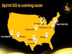 Sprint宣布将于5月推出5G网络 演示速度达430Mbps