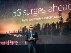 """诺基亚首席执行官:欧洲5G实施将""""推迟"""""""