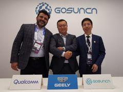 吉利宣布与高通和高新兴合作发布吉利全球首批支持5G和C-V2X的量产车型计划