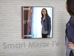 三星电视新品渲染图曝光 电视也能当镜子用?