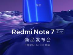 来了来了!红米Note 7 Pro国行版官宣 3月18日发布