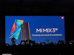 小米5G国内很快发布 是MIX3 5G版还是发新机