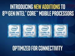 回击高通 英特尔发布第八代U系列和Y系列处理器