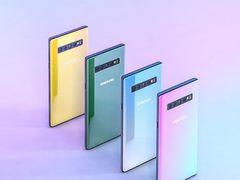 三星Galaxy Note 10将会有两个版本 和按钮说再见?