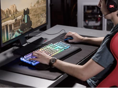 键盘护腕榻榻米 HyperX推出Wrist Rest海岸键盘托