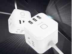 用电也能时尚,公牛魔方智能USB插座