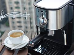 享受精致生活 东菱DL-KF500意式咖啡机体验