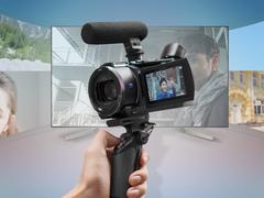 索尼4K摄像机AX60 让VLOG拍摄一步到位