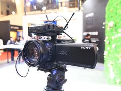 索尼AX700摄像机  企业直播的首选器材