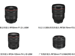 佳能推出四款EOS R系统RF镜头