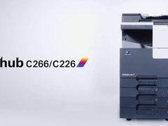 618购物狂欢 柯尼卡美能达C226 A3彩色复印机 直降990.