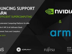 NVIDIA宣布CUDA支持Arm,百万兆级超算新途径