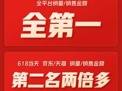 小米大家电618傲视群雄:小米电视狂揽46项冠军,空调杀进行业前4名