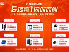 多赛道全面领跑,科大讯飞AI消费者端产品6个第一荣耀收官618