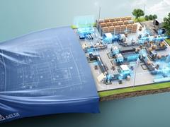 台达8K激光投影机亮相于2019 MWC