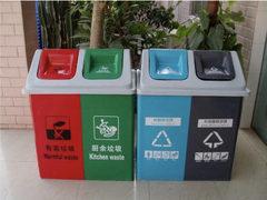 为备战垃圾分类 北京、杭州等地垃圾桶热销